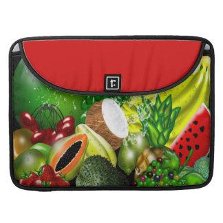 Frutas 15 pulgadas fundas macbook pro