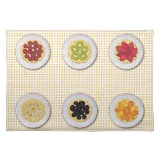 Frutas aux. Placemat de Tartes Manteles Individuales