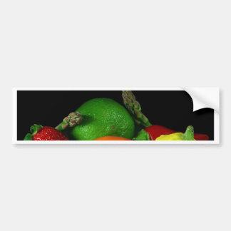 Frutas Etiqueta De Parachoque
