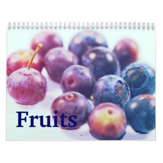 Frutas Calendarios