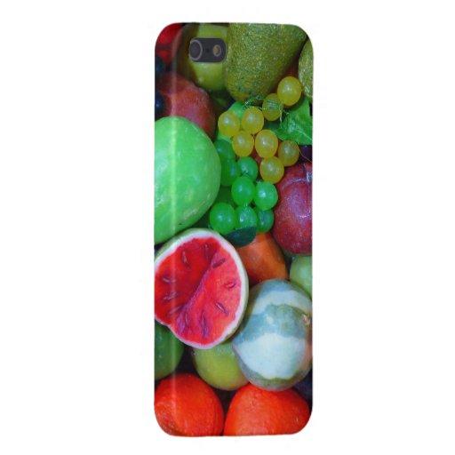Frutas - caso brillante del final del iPhone 5 iPhone 5 Carcasas