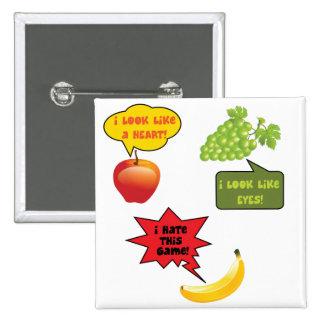 Frutas chiste, rabia del plátano pins