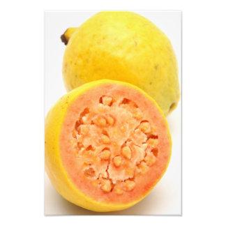 Frutas de guayaba arte fotográfico
