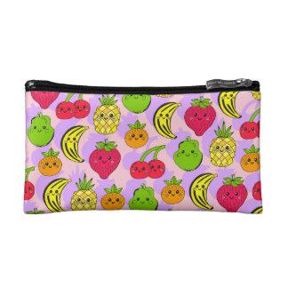Frutas de Kawaii - pequeño bolso cosmético