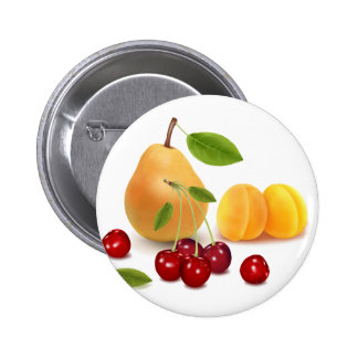 Frutas de las frutas y frutas pin