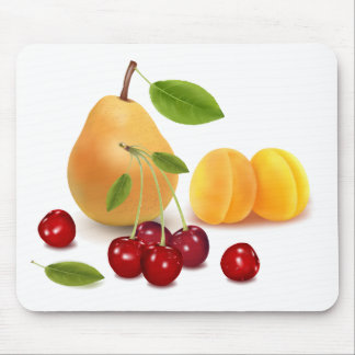 Frutas de las frutas y frutas tapetes de raton