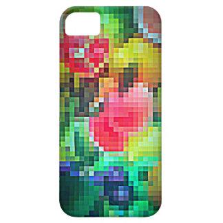 Frutas de Pixelated en el iPhone 5 5S Barely Ther