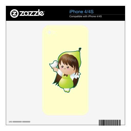 Frutas del alcohol: Paz Skins Para eliPhone 4