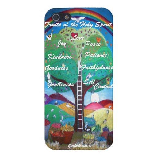 Frutas del caso del iPhone 5/5S del Espíritu Santo iPhone 5 Cárcasa