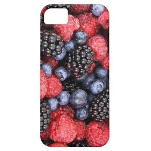 Frutas del caso del iphone 5 del bosque funda para iPhone SE/5/5s