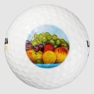 Frutas del verano pack de pelotas de golf