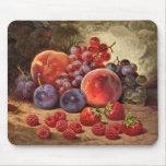 Frutas del verano tapetes de ratón