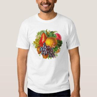 Frutas del vintage y pintura Nuts Playeras