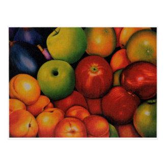 frutas divinas postcard