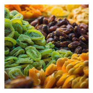 Frutas en un bazar en Estambul Turquía