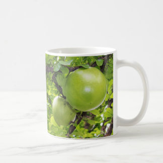 Frutas exóticas de Maja Taza Básica Blanca