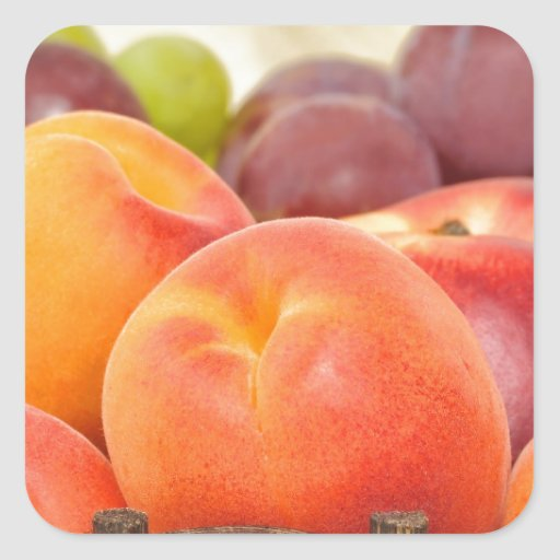 Frutas frescas colcomanias cuadradases