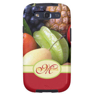 Frutas frescas maduras deliciosas naturales jugosa galaxy s3 protector