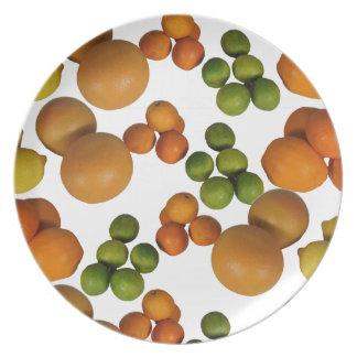 frutas frescas platos de comidas