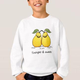 Frutas gemelas - pares perfectos sudadera