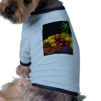 Frutas hermosas camisas de mascota