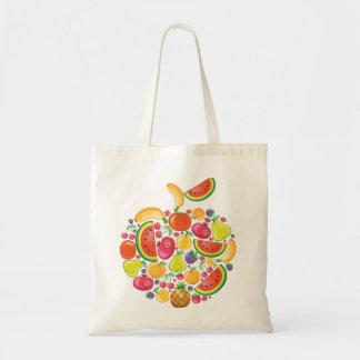 Frutas locas bolsa tela barata