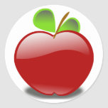 ¡Frutas! Pegatinas Redondas