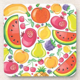 Frutas Posavasos De Bebida