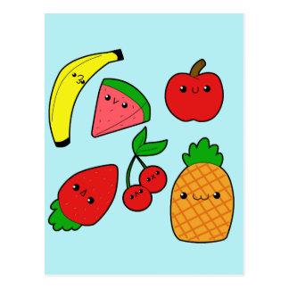 Frutas Tarjeta Postal