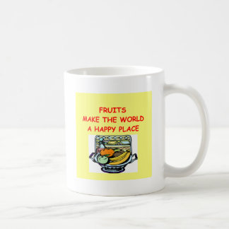 frutas taza