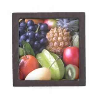 Frutas tropicales de la mezcla cajas de recuerdo de calidad