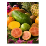 Frutas tropicales postal