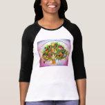 Frutas un árbol camisetas