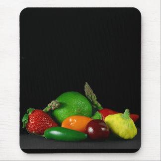 Frutas y cojín de ratón de los Veggies Alfombrilla De Raton