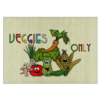 frutas y veggies tabla de cortar