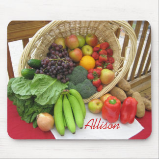 Frutas y Veggies Tapete De Ratones