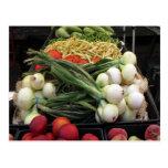 Frutas y verduras postal