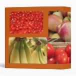 frutas y verduras rojas y amarillas
