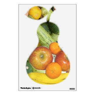 Frutas y verduras vinilo decorativo