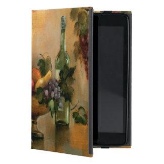 Frutas y vino con tonalidades del otoño iPad mini funda