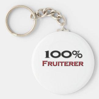 Frutero del 100 por ciento llavero