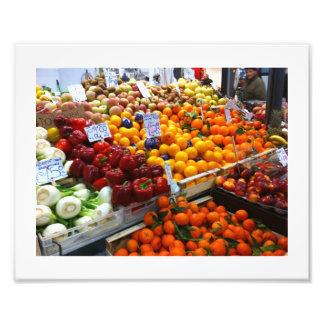 Frutta e Verdura fruta y verduras Impresion Fotografica