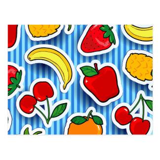 Frutti de Tutti, postal
