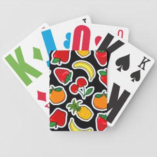 Frutti de Tutti, tarjetas del juego Barajas