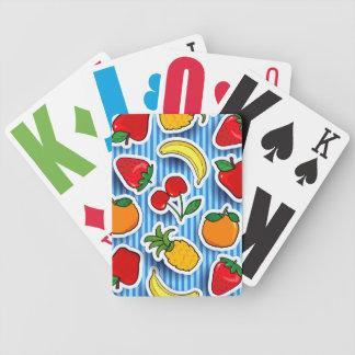 Frutti de Tutti, tarjetas del juego Barajas De Cartas