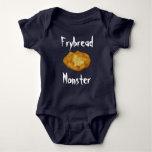 Fry Bread Monster Baby Bodysuit