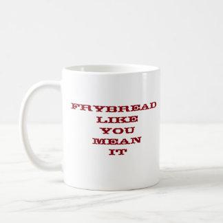 fry bread mug
