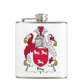 Fry Family Crest Hip Flasks