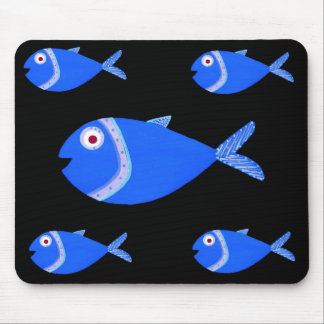 Fry Fish Mouse Pad