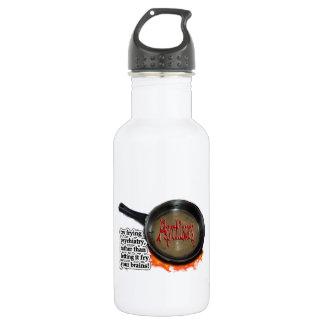 Fry psychiatry! water bottle